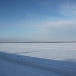 Волга в солнечных лучах