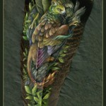 Рисунок на пере